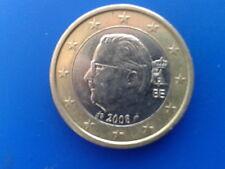 1 euro belgique 2008 FAUTEE (LIVRAISON GRATUITE)