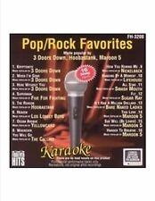 Pop Rock Favorites Cd + G/Ecd by Karaoke Cd Apr-2007 Forever Hits New Maroon 5