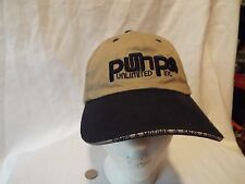Pumps Unlimited Inc. Tan and Navy Ball Cap