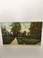 1911 The Moravian Graveyard in Winston-Salem, NC  PC