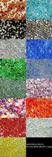 100g Glass Mini Pebbles 3-6mm Home Garden Mosaic Wedding Craft 13 Colours