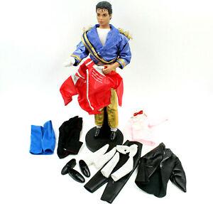 "Michael Jackson Doll w/ Clothes & Stand, Vintage 80s LJN 12"" Figure (1984)"