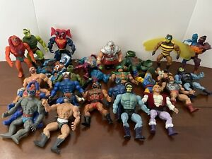 Vintage 1980's He Man MOTU Figures Only Lot Of 25 Masters Of The Universe