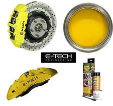 E-Tech High Quality Yellow Engine Bay & Wheel Hub Brake Caliper Paint Full Kit