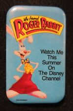 Who Framed Roger Rabbit Watch This Summer on Disney Channel Promotional Button
