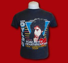 Vintage 1980's 1986 BOB DYLAN + TOM PETTY True Confessions Tour Music Band Tee M