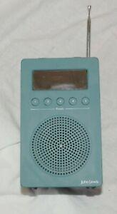 JOHN LEWIS PORTABLE DAB / FM RADIO