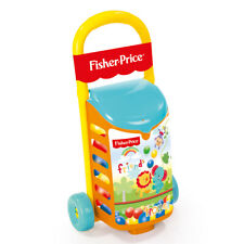 NEW FISHER PRICE PULL ALONG TROLLEY WITH PIT BALLS FOR KIDS 1814