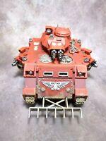 Warhammer 40k Space Marines Blood Angels Baal Predator Well Painted
