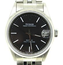 TUDOR Prince Date Ref# 72000 Automatic Self Winding Black Dial Men's Wristwatch