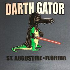 Darth Gator St. Augustine T-Shirt Mens Star Wars Darth Vador Shirt Size L