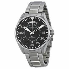 Hamilton Khaki King Pilot Black Dial SS Automatic Mens Watch H64615135