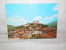 Vecchia cartolina foto d epoca di Marsico Nuovo scorcio panoramico veduta case