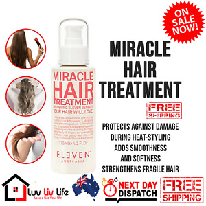 ELEVEN Australia Miracle Hair Treatment 125ml Repairs Split Ends Frizz Colour