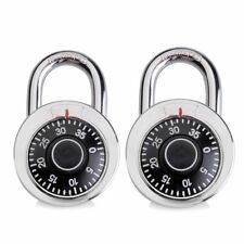 2-Pack 3 Digit Combination Password Padlock Gym Travel Locker Door gym locker