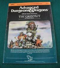 AD&D Official Game Adventure The Gauntlet UK3 TSR 9111
