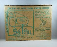 Vintage See All Stro Miro SA-1 Trailer Towing Mirror Panoramic Truck Camper Car