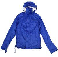 Marmot Mens Jacket Blue Size Large L Windbreaker PreCip Eco Hooded $100 #130