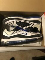 Used 9.5 Nike Airmax  Blue Racer 98 2019 Ny La Sold Out Volt 3m