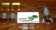 Lock Set Door + Ignition 11pc Kit Cadillac Oldsmobile Pontiac Buick Chevy locks