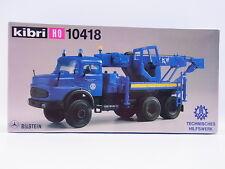 Lot 15582 | Kibri ho 10418 mercedes Bilstein THW bergekran 1:87 kit nuevo embalaje original