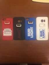 Bud Light Bottle Opener Phone Case For iPhone Size 7/6/6s or Samsung S7