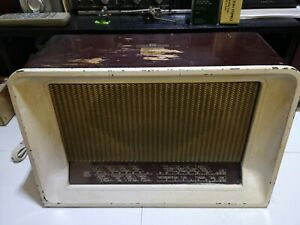His Masters Voice Hmv Model 1125 Valve Radio Vintage