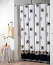 Duschvorhang Textil Quadrat Badewannenvorhang Wannenvorhang 180 x 200