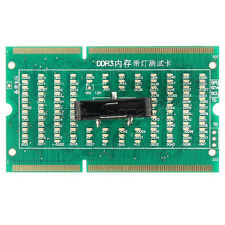 1Pcs DDR3 Scheda di Memoria Slot Tester con LED per Notebook Laptop scheda madre come