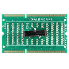 1Pcs DDR3 Memory Slot Testeur Carte avec DEL pour ordinateur portable Carte mère ordinateur portable comme