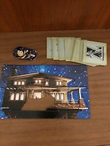 Zathura Board Game Puzzle House Replacement Parts Pieces 6 Tokens Cards 2015 S18