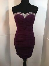 B. Darlin Dress, Prom, Homecoming, Party, Purple, Size 9/10