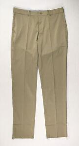 Nike Pants Men's Khaki Dri-Fit Unhemmed Dress New Multiple Sizes