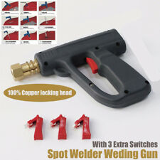 Garage Spot Welding Gun Dent Puller Tool Car Body Metal Shrink Repair Panel Fix