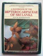 VERY RARE SIGNED Copy A HANDBOOK OF THE DIPTEROCARPACEAE OF SRI LANKA