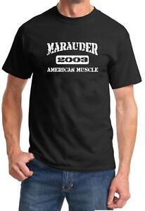 2003 Mercury Marauder American Muscle Car Classic Design Tshirt NEW