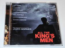 James Horner ALL THE KING'S MEN Sean Penn Jude Law Soundtrack CD (VG+)