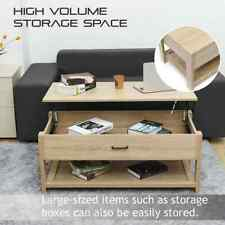 Modern Wooden Lift Top Coffee Table with Hidden Storage Compartment
