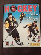 1988 Vintage NHL Panini Hockey 1988/89 Sticker Album with Stickers