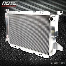 GPLUS  Aluminum Racing Radiator For 85-96 FORD F-150/F-250/F150/F SUPER DUTY V8