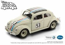 1:18 HotWheels Elite Disney VW COCCINELLE #53 Herbie the Love Bug 1962