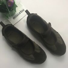 Patagonia Eco Step Vibrant Mary Jane Shoes Size 9 39.5 Brown Gray Walking Spell