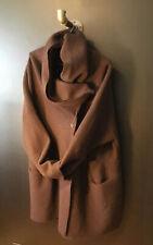 Rundholz Wool Hooded Coat Jacket