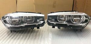 Original 2017 BMW X5 F15 X6 F16 Full LED Adaptive headlights assembly ECE SET