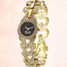D&G Women's Cactus DW0549 Gold-Stone Bracelet Stainless-Steel Quartz Watch