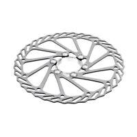 160mm Aluminium Alloy Cycling MTB Mountain Bike Disc Brake Rotors w/ 6 Bolts