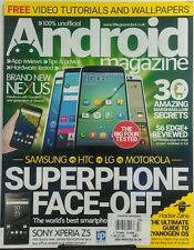 Android Magazine UK Issue 57 Superphone Face Off Smartphones FREE SHIPPING sb