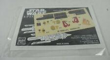 Star Wars Episode 1 Instructions & Sticker Sheet from Anakin's Pod Racer 1999