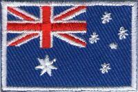 écusson ECUSSON PATCHE PATCH THERMOCOLLANT DRAPEAU AUSTRALIE DIM. 4,5 X 3 CM