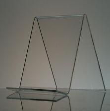 "6"" Acrylic Book Easel/Artwork Display Stand"